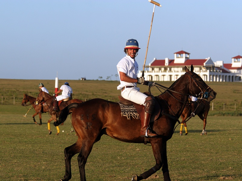 Uruguay's polo season starts in October and many of the major events are held during January, February, and March. Photograph: Estancia Vik