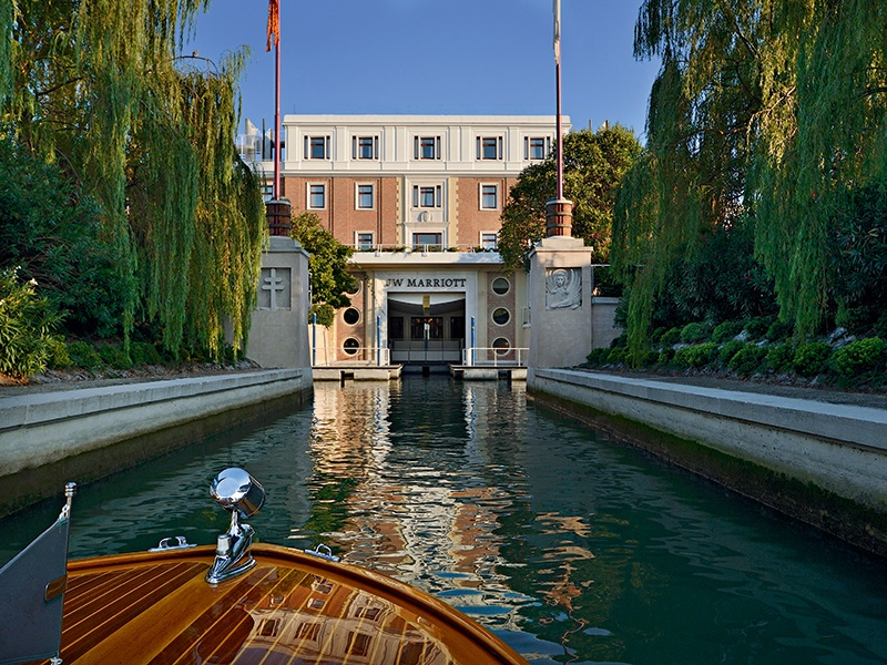 A Venetian sanctuary, JW Marriott Venice Resort & Spa is located on its own private island, Isola delle Rose.