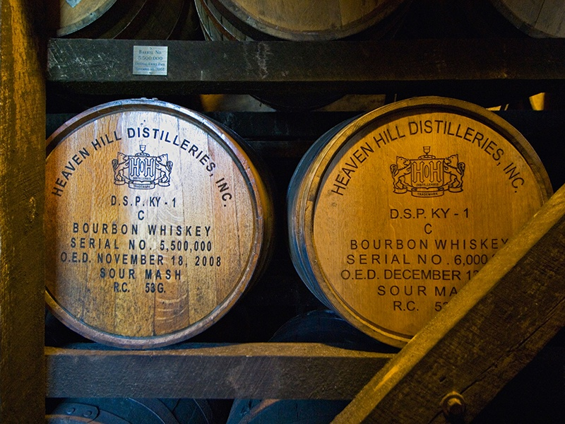 Kentucky's Bourbon Heritage Center has a range of tours including the Mashbill, with three tastings, and the highly recommended Whiskey Connoisseur Experience, which includes tastings of four premium American whiskeys. Photograph: Alamy