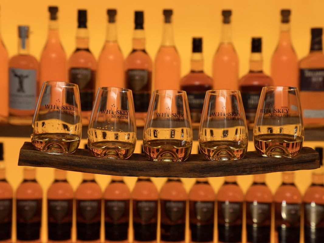 Every tour of Dublin's Irish Whiskey Museum, based at the main entrance of the city's famous Trinity College, ends with a convivial tasting session of at least three Irish whiskeys.