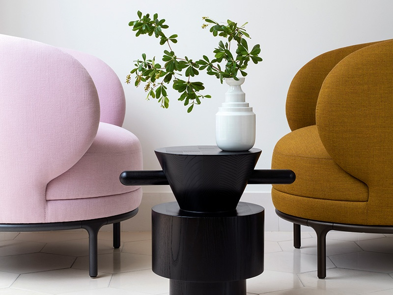 Wittmann Hayon Workshop seating. Photograph: Hayon Studio