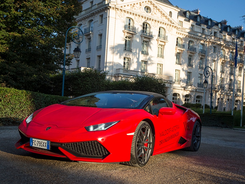 Enjoy the drive of your life—experiences in Paris start at the Waldorf Astoria Trianon Palace Versailes and last 30 minutes.