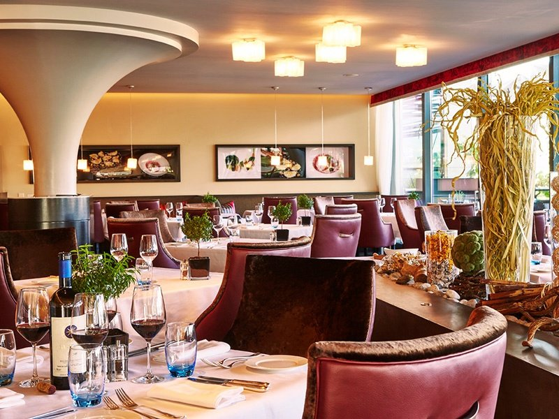 Grand Hotel Kempinski's Il Vero restaurant is the place for traditional Italian dishes and stunning water views.