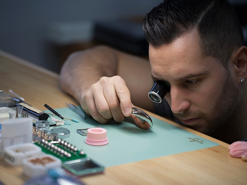 """""""From an early age I was fascinated by the intricate mechanisms of a mechanical watch,"""" says Backes & Strauss watchmaker Yoan Gruffaz. Banner photograph: © Geneva Tourism"""