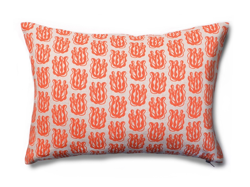 The Petite Seaweed Pillow from Wayne Pate's recent collection for Studio Four NYC.