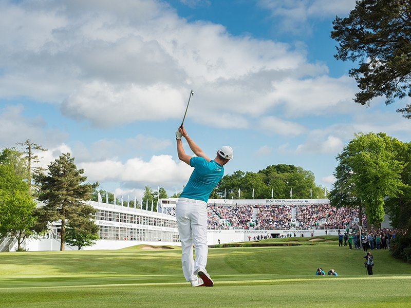 The BMW PGA Championship is one of the top social and sporting events on the calendar. Photograph: Adam Jacobs Photography