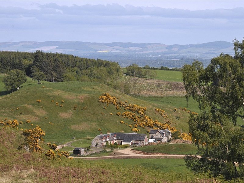 Set in 612 acres of upland countryside in an area dominated by large estate ownership, West Cult has several duck flight ponds and a reservoir offering brown and rainbow trout fishing. On the market with Strutt & Parker, the exclusive affiliate of Christie's International Real Estate in Scotland.