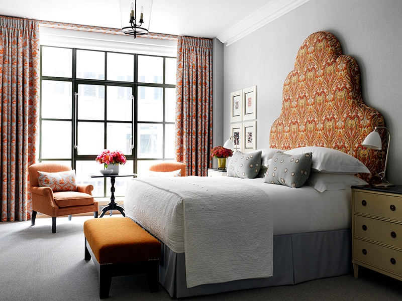 The soon-to-open Whitby Hotel, on West 56th Street at Fifth Avenue, will offer 86 rooms and suites, featuring textile designs commissioned from Vanderhurd.