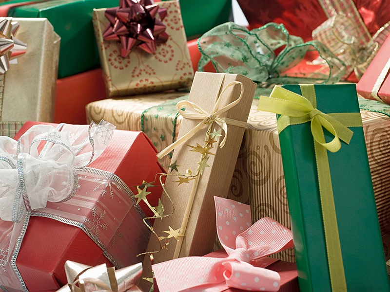 """Having sourced them all for you, no one wraps Christmas gifts quite like Concierge London or New York, where """"Christmasifying"""" is a specialty and excellence comes as standard. Photograph: Alamy"""