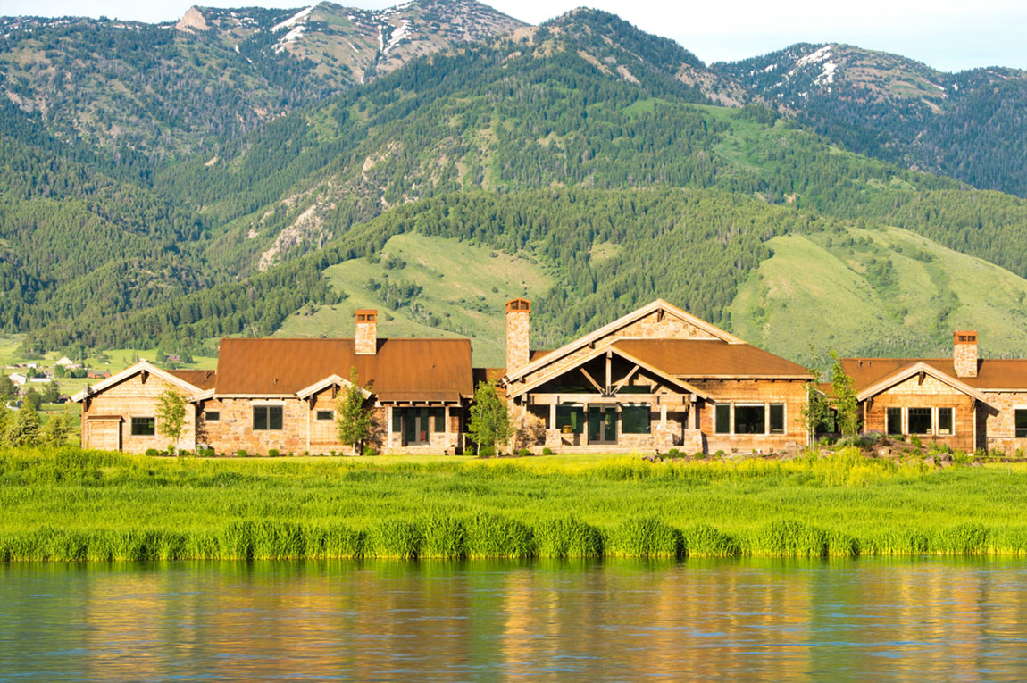 Nestled on an oxbow bend of the Wyoming's Salt River, this rare mountain estate allows residents to experience a true Western lifestyle.