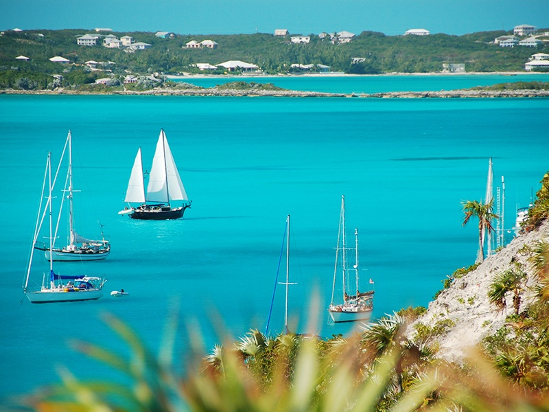 There is an island for every day of the year in Exuma Cays, Bahamas, which begin just 35 miles southeast of Nassau.