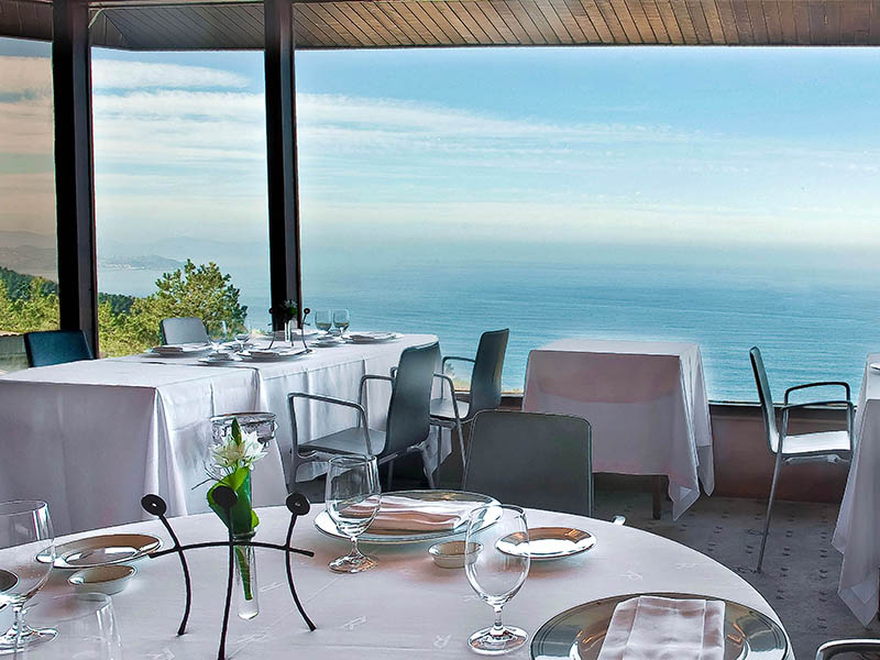 Subijana is renowned for his skill with seafood, and Akelarre has stunning views of the sea.