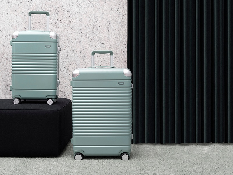 With an unbreakable shell and integrated USB ports, Arlo Skye's luggage collection takes some of the stress out of international travel.