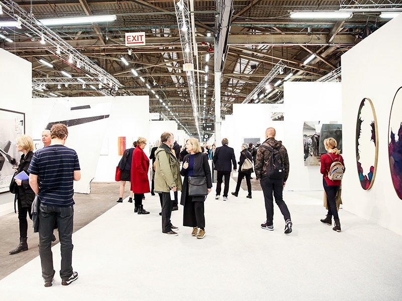 The Armory Show is set across two piers on the Hudson River in New York, and—under the leadership of director Benjamin Genocchio—has more recently embraced the character of the former industrial space.