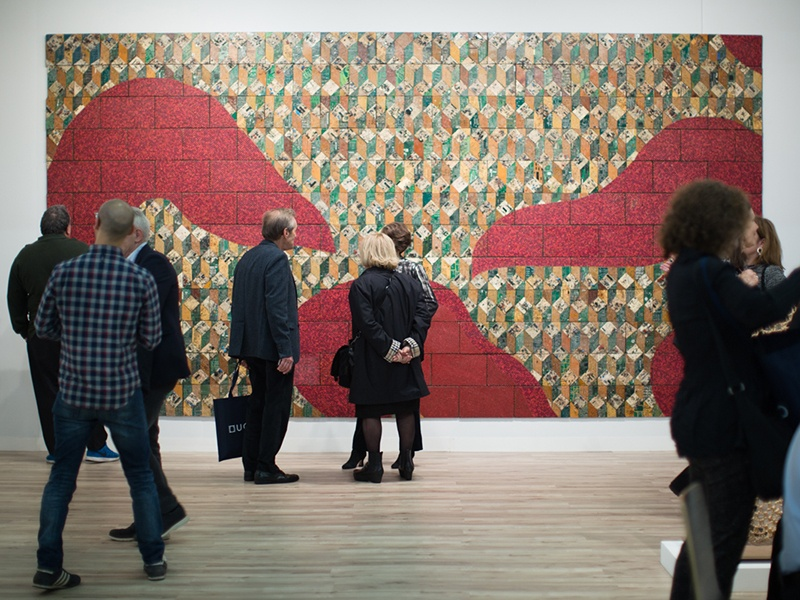 For 2018, the Armory Show will host fewer exhibitors but will boast larger booths, and an increased focus on curated presentations.