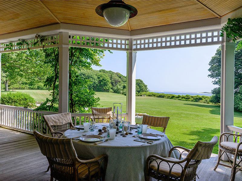 Briar Patch is often called one of the most beautiful properties in the Hamptons and is on the National Register of Historic Places. Photograph: Jake Rajs