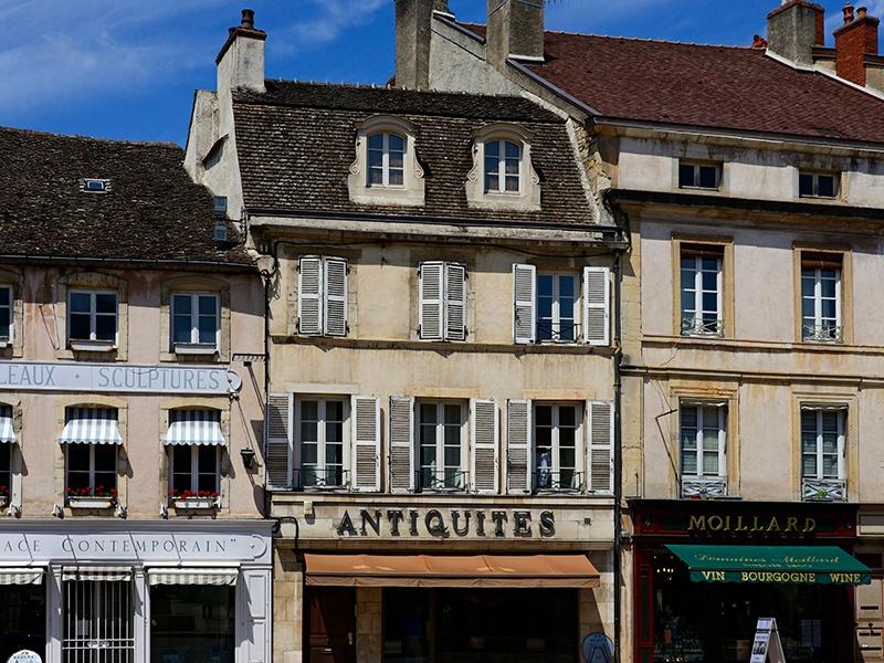 Organized around an inviting main square, Beaune boasts an array of charming shops, cafés, and restaurants. Photograph: Robert Harding