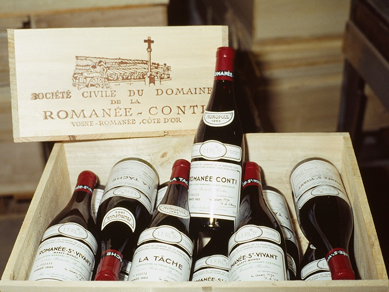 """According to Chris Munro, head of Department, Wine, at Christie's London, """"the wines of the Côtes Nuits and Beaune are the darlings of the saleroom."""" Photograph: Getty Images"""