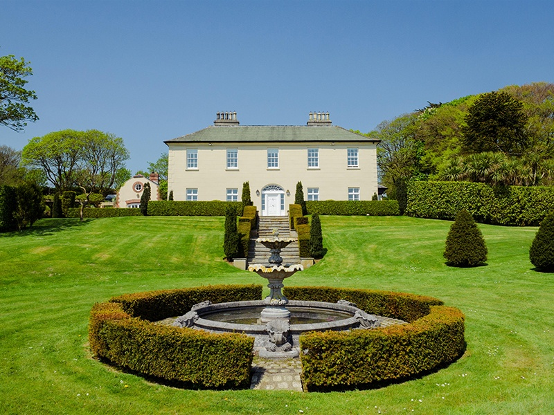 A splendid Georgian home set in rolling gardens with views to the sea, Burren House has been beautifully restored by its former owners.