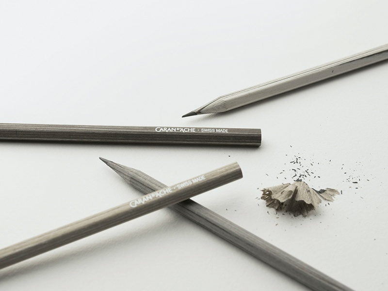 Caran D'Ache's stylish set of pencils is delicately fragranced with patchouli, incense and tonka bean.