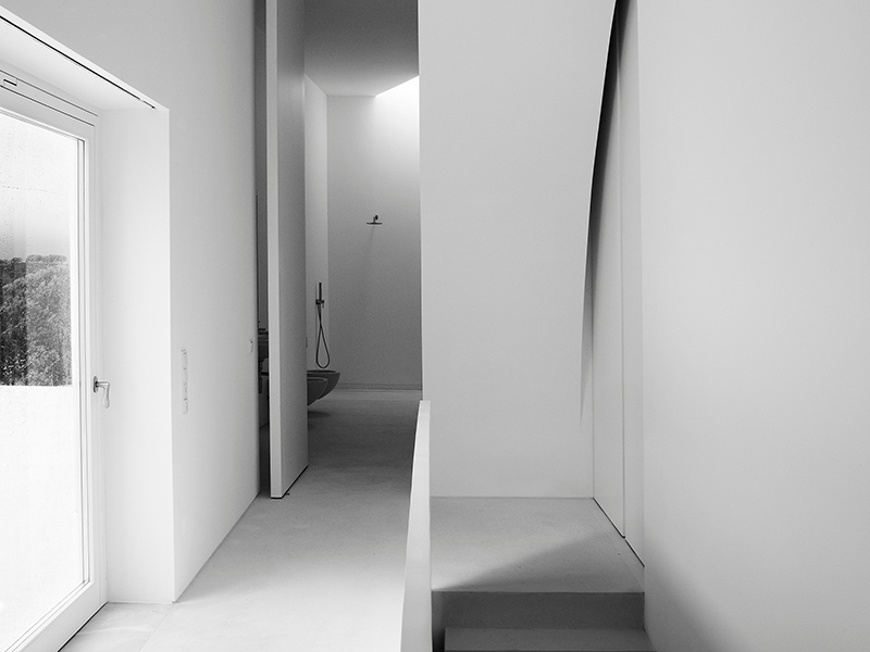 Interior view of Casa Fontinha in Melides, Portugal, by Aires Mateus. Photograph: Juan Rodriguez