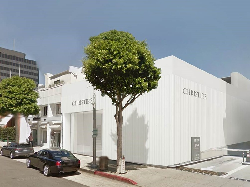 Interdisciplinary design practice wHY specializes in arts and community projects, such as the new Christie's flagship in Beverly Hills. Image: wHY