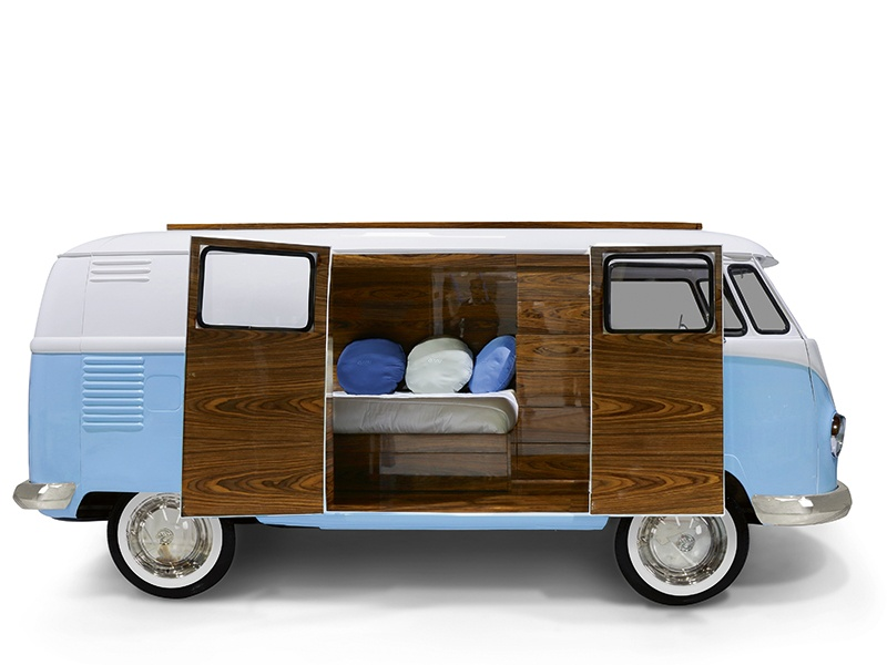 The unique beds, chairs, lighting, and storage from Circu—such as the Bun Van bed—aim to give life to the dreams and playful imaginations of children.