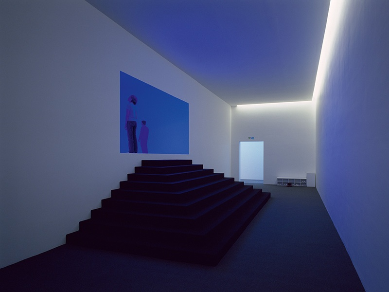James Turrell's <i>Spread</i> (2003) is one of nine light installations at the Hess-owned museum dedicated to the artist, housed at the Colomé winery in Argentina. Photograph: Florian Holzherr
