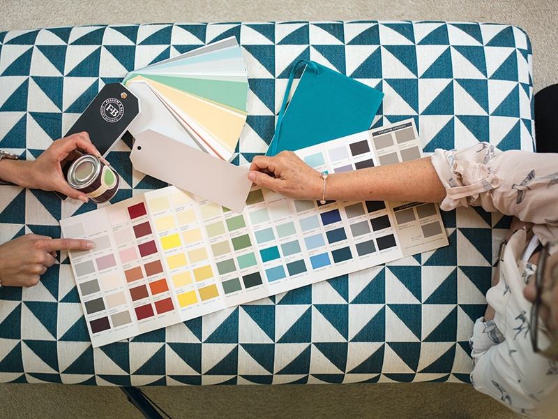 Each of Farrow & Ball's paint colors is inspired by nature, historic houses, or notable people and places.