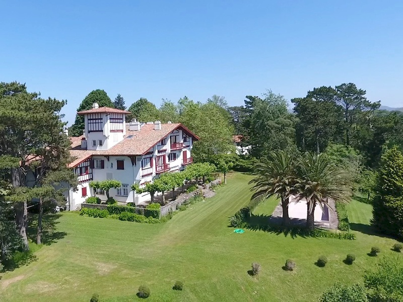 This 12-bedroom home is located just a short distance from Saint-Jean-de-Luz and the Spanish border. Photograph: Côte Ouest