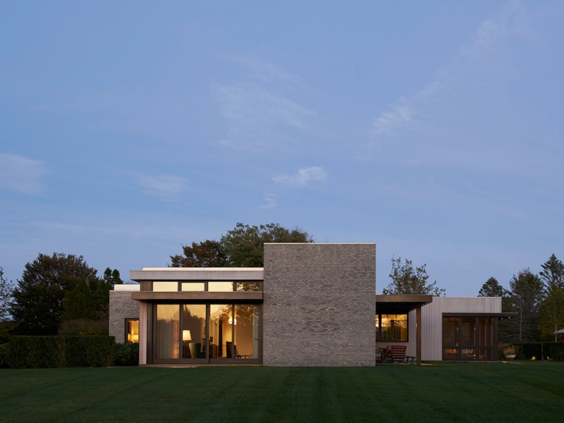 Deborah Berke's minimalist design for a property in the Hamptons. Photograph: Jason Schmidt