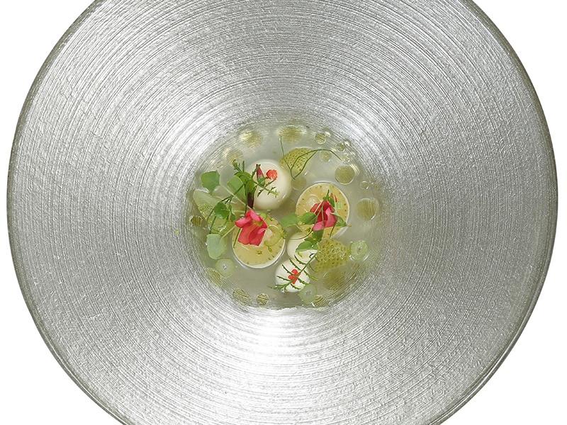 Artisan liquor GastroGin is the basis for De Librije's delicate sensation, Gin & Jonnie. Photograph: Thomas Ruhl