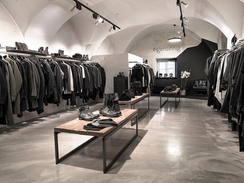 Avant-garde clothes, shoes, and accessories from hard-to-find labels feature at Vienna's Eigensinnig.