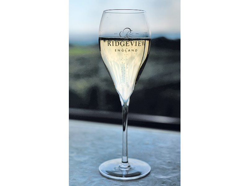 Ridgeview has received accolades at the Decanter World Wine Awards, International Wine Challenge, and Sommelier Wine Awards, among others, in some cases topping French champagne houses. Photograph: Christopher Pledger