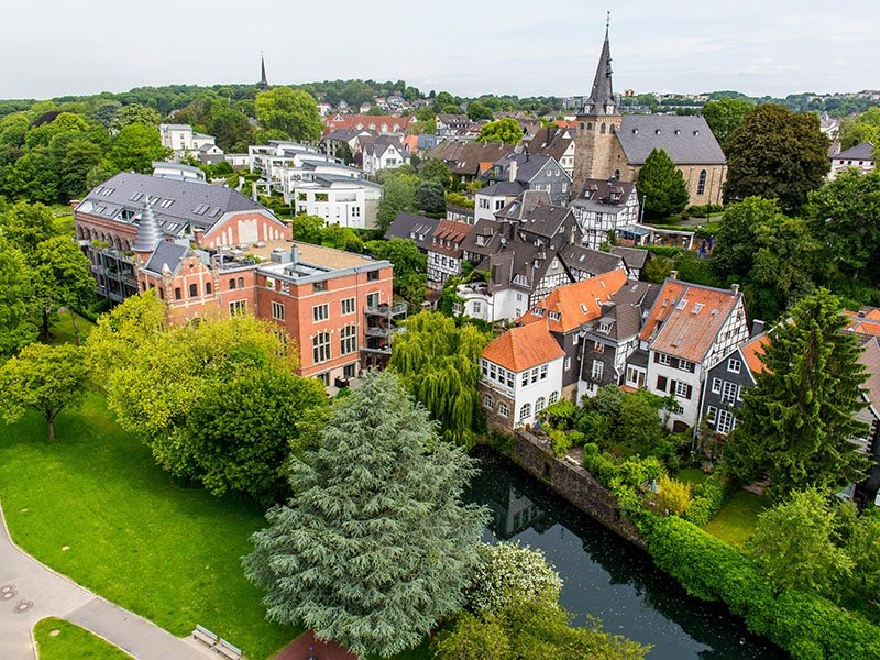 Named 2017's European Green Capital, Essen in Germany aims to cut its carbon dioxide emissions to just 40 percent by 2020. Photograph: Alamy