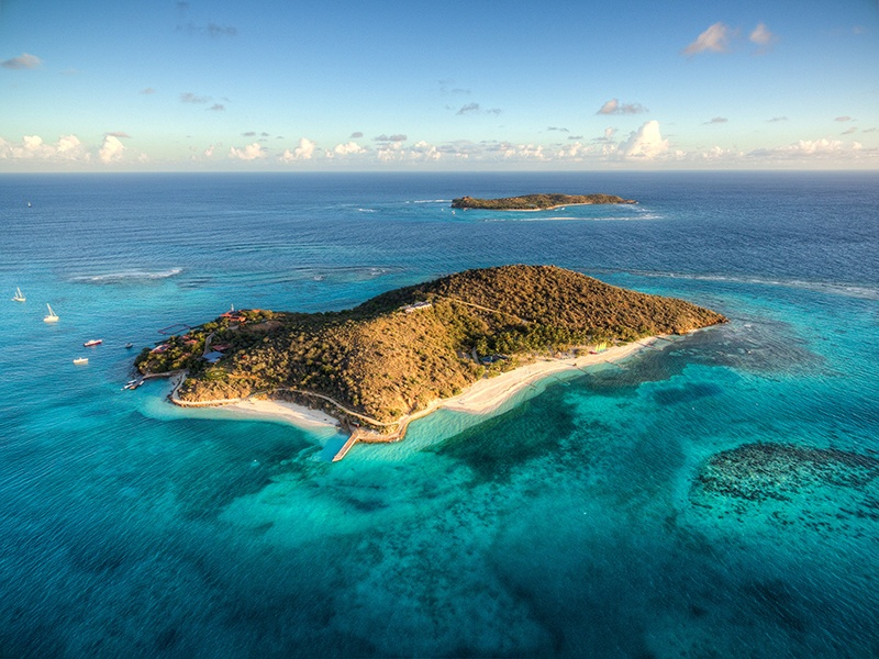 The private Caribbean island of Eustatia is dedicated to providing world-class watersports and ultimate privacy.