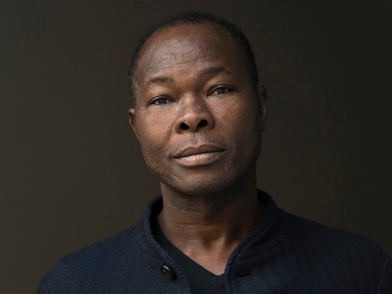 Francis Kéré seeks to form a bridge between the Western world and his home country, Burkina Faso, with his projects. Photograph: ©Erik Jan Ouwerkerk. Banner image: At night, the Serpentine Pavilion will light up, evoking memories of Kéré's hometown of Gando, where an illuminated tree signals villagers are gathering. Photograph: ©2017 Iwan Baan