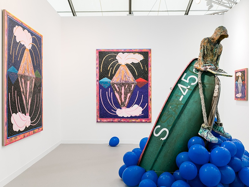 More than 160 of the world's leading galleries typically attend Frieze London, with exhibitions complemented by film commissions, off-site musical performances, and panel discussions.