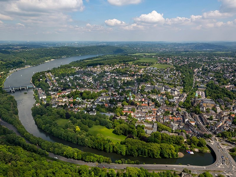Rich in culture, history, and impressive 17th- and 18th-century architecture, Essen is a shining example of urban transformation—from industrial to sustainable. Photograph: Getty Images