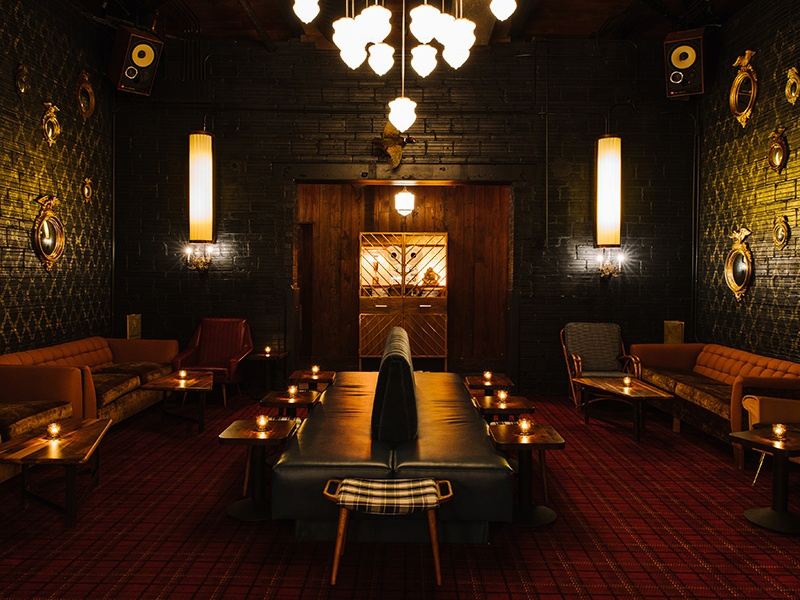 Located in Atlanta's historic Reynoldstown district, the Golden Eagle restaurant is a throwback to an era of train travel, speakeasies, and extravagant late-night parties.
