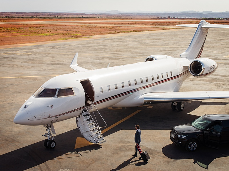 With a fleet of 700 private jets, the Berkshire Hathaway-baked NetJets is the official private jet provider of the PGA Tour.