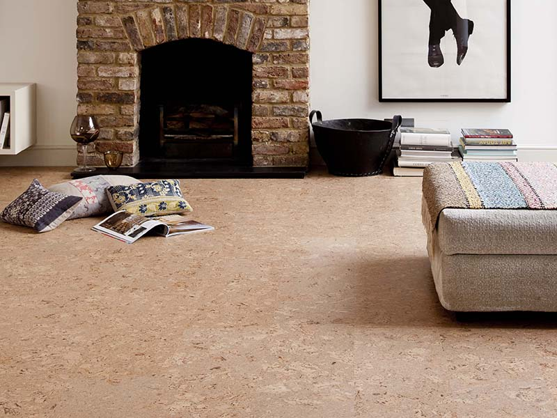 Granorte, initially founded in the 1970s to recycle the wasted cork resulting from the manufacture of wine corks, now crafts flooring and wall coverings—all sustainable and renewable. Banner image: The HexParket wood parquet flooring design from Junckers.