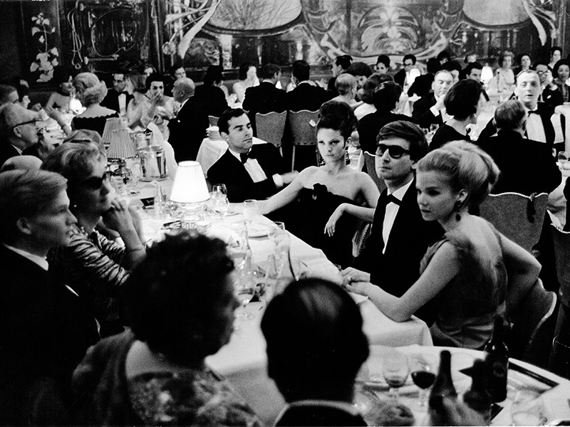 Gstaad Palace was a star-studded hotspot in the 1960s and 1970s, hosting musicians and actors such as Louis Armstrong, Marlene Deitrich, and Peter Sellers.