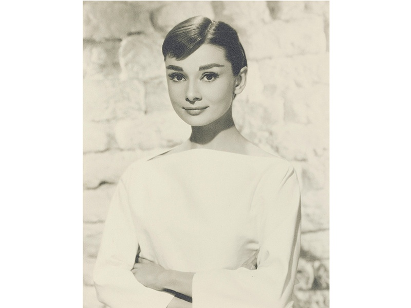 The exhibition and auction at Christie's in London will feature Audrey Hepburn's personal archive of photographs, including this 1956 image by Bud Fraker. Photograph: ©Christie's Images Limited 2017