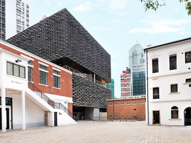The Tai Kwun Centre for Heritage & Arts—a Herzog & de Meuron creation still in its early stages—will transform a collection of historical buildings on Hong Kong Island, including the former Central Police Station, the Central Magistracy, and the Victoria Prison.
