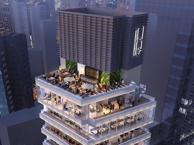 Home to the galleries of David Zwirner, Pace, Pearl Lam, Tang Contemporary Art, and Whitestone, HQueen's in Hong Kong also has space dedicated to restaurants, a cake boutique, and retail. Image: Render courtesy of HQueen's
