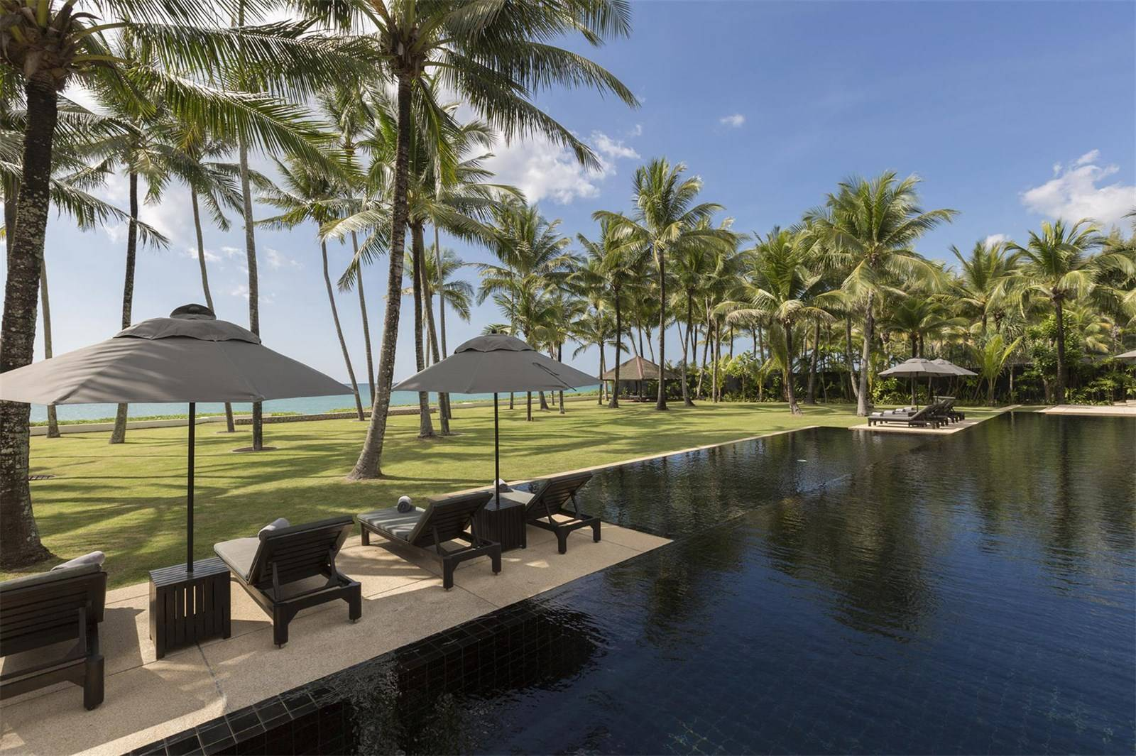 This parklike setting is one of the distinguishing features of Villa Shanti.