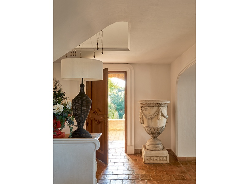 The interiors of the villa find a balance between a relaxed, authentic Provençal style and a chic Saint-Tropez aesthetic. Photograph: Frederic Vasseur