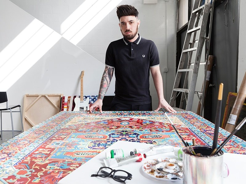Born in Miami to immigrant parents, Jason Seife grew up in a creative environment and knew from an early age that he wanted to be an artist. Photograph (and banner image): Graciela Cattarossi