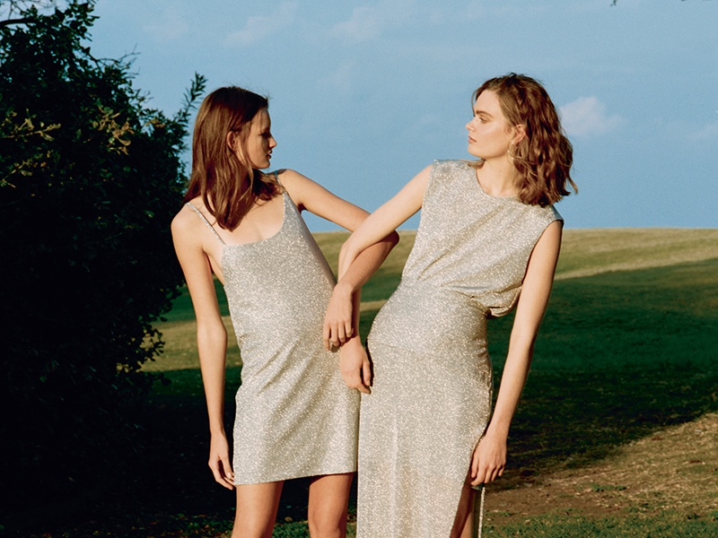 The dreamy dresses created by Kacey Devlin have a less-is-more sophistication . Photograph: Ben Simpson